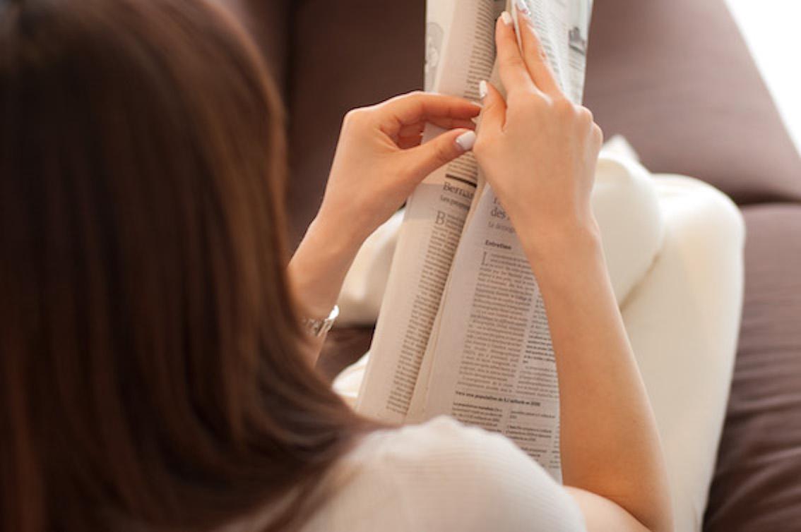 新聞に掲載されている雇用情報をチェックする
