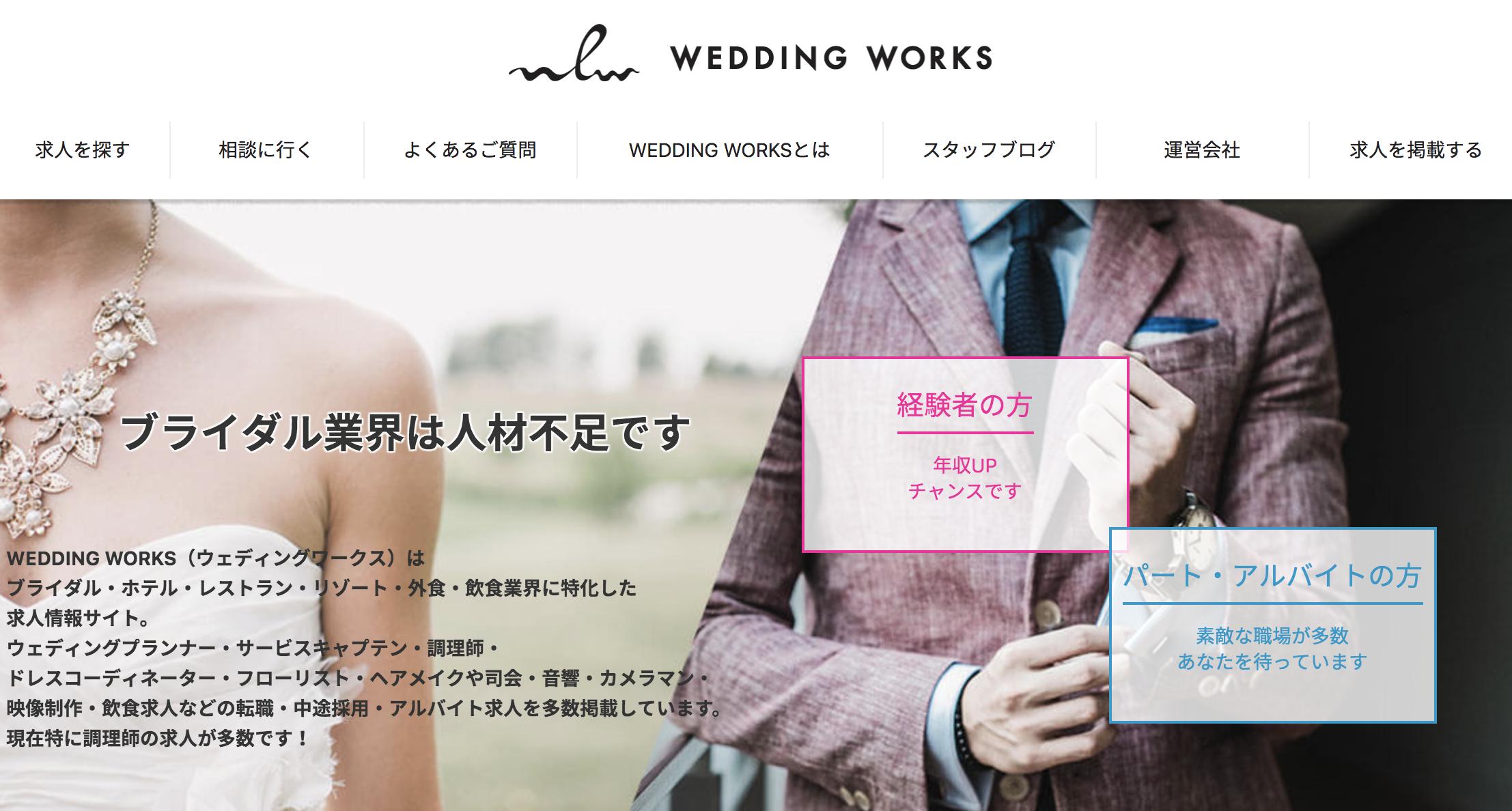 WEDDING WORKSの特徴について